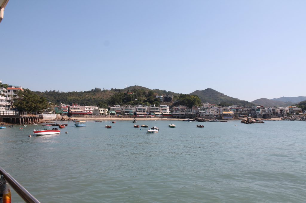 fishing harbour of Yung Sue Wan, Paul's homeland