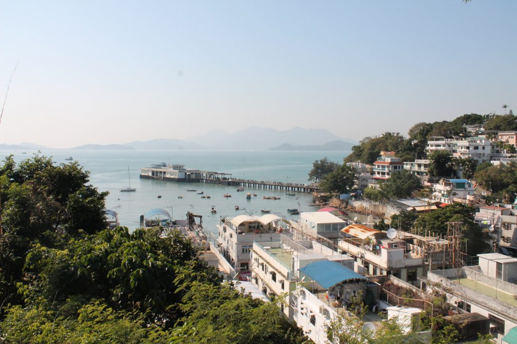 view over Yung Shue Wan, Lamma