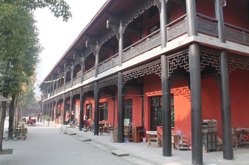 monastery in Sichuan