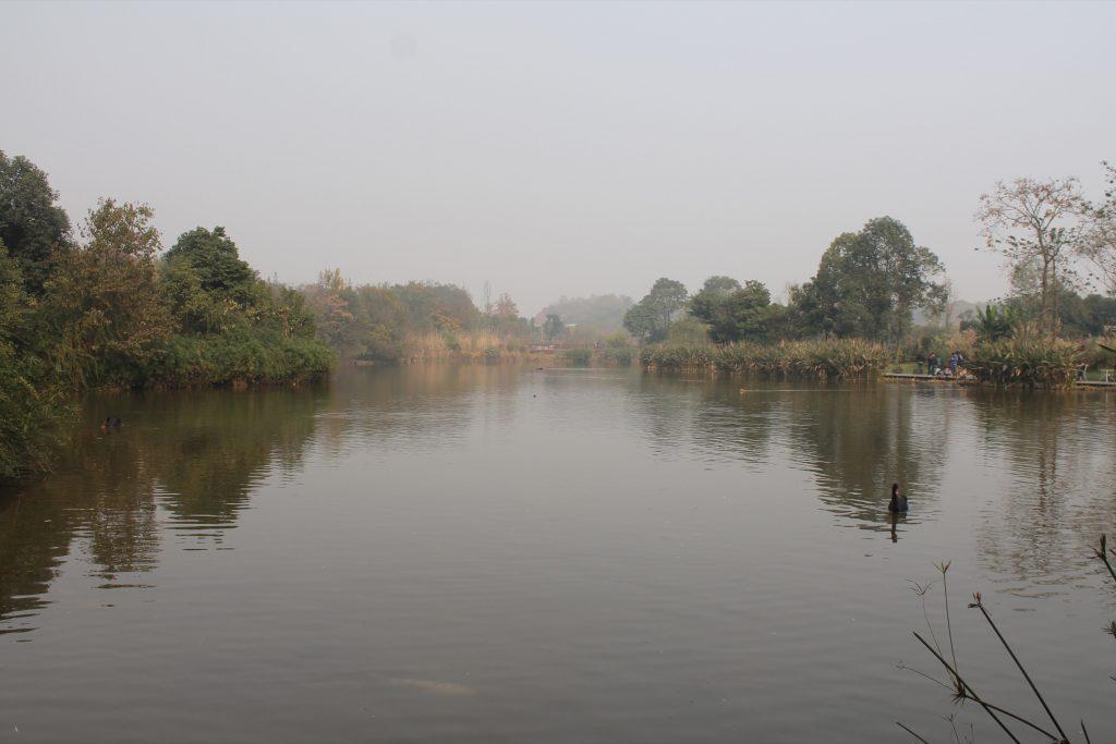 Ein See in Sichuan