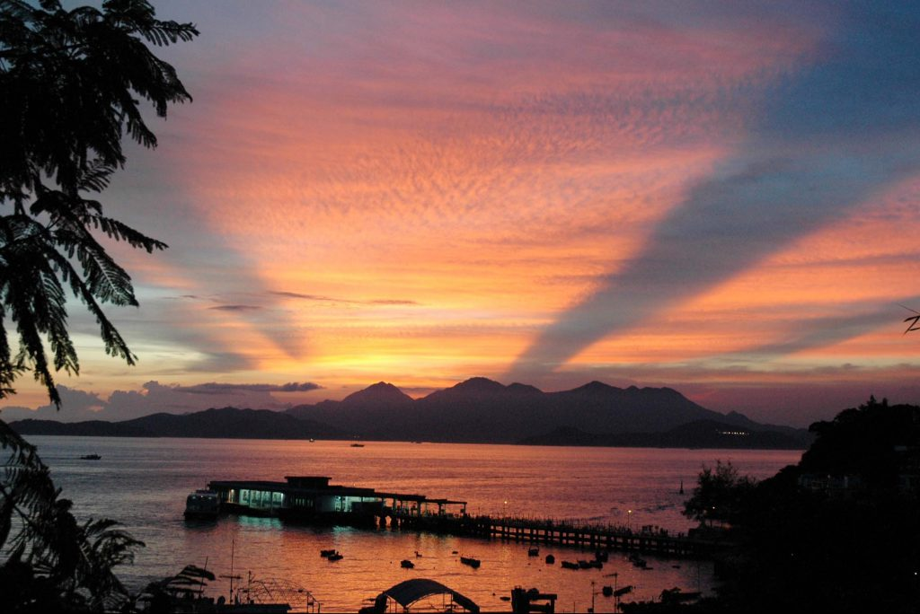 Sunset in Lamma, Hongkong