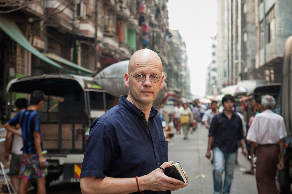 Jan-Philipp Sendker on the road in Hong Kong