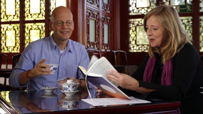 Jan-Philipp Sendker und Christine Thalmann