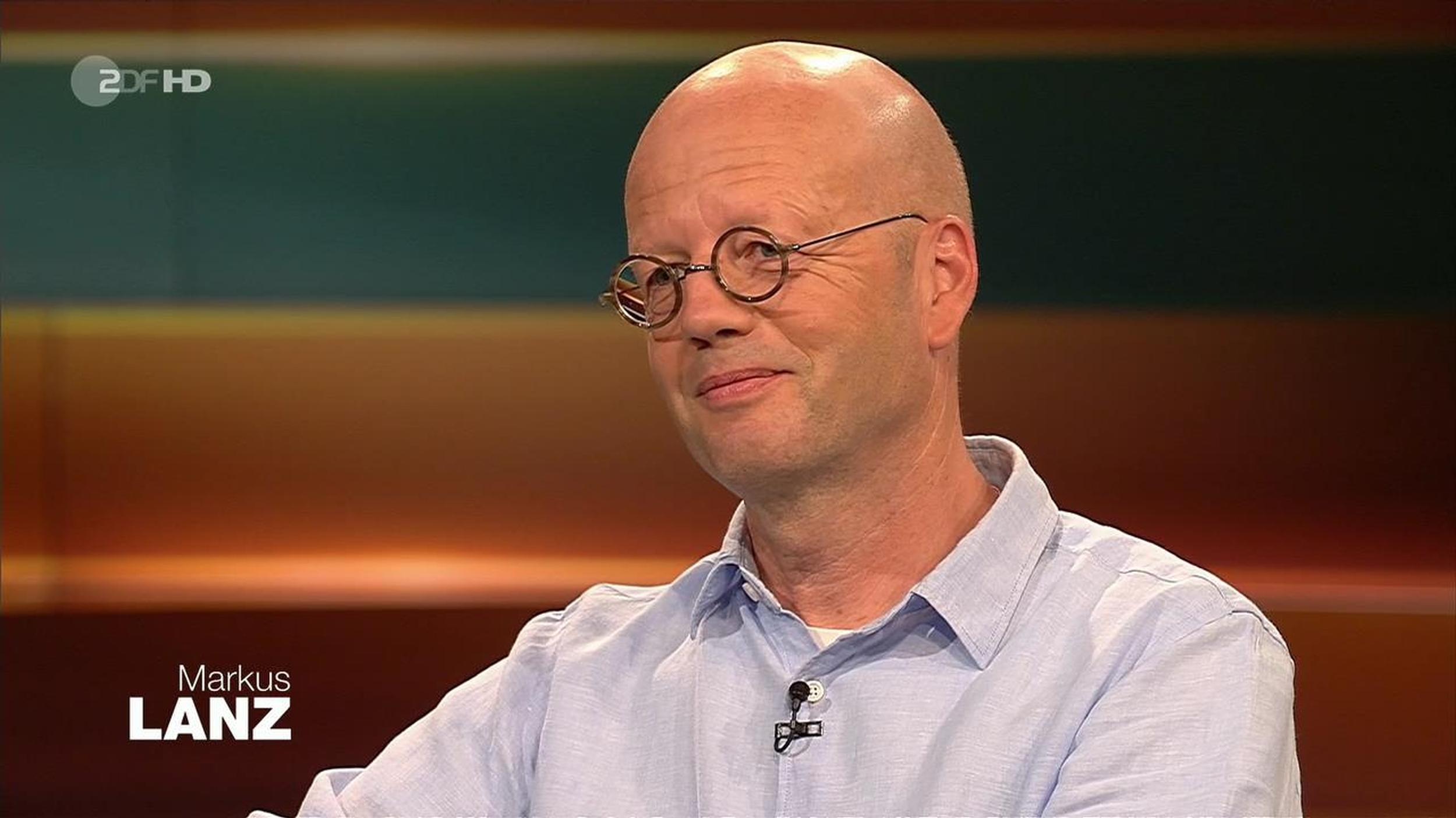 Interview bei Markus Lanz 21.08.2019
